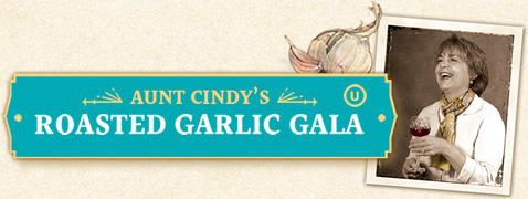 Aunt Cindy's Roasted Garlic Gala Jar