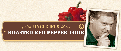 Uncle Bo's Roasted Red Pepper Jar