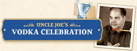 Uncle Joe's Vodka Celebration Jar