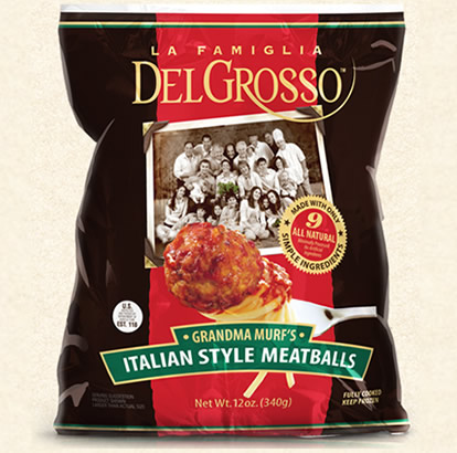 Grandma Murf's Italian Style Meatballs Bag