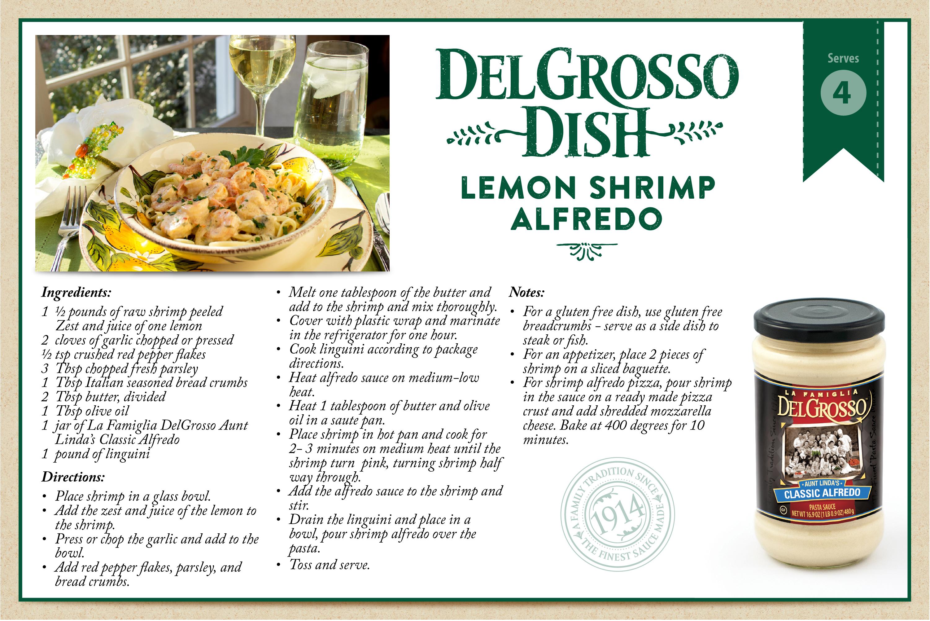Lemon shrimp alfredo delgrosso sauces recipe card forumfinder Images