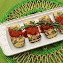 Grilled Dishes - Rosemary Parmesan Zucchini Boats